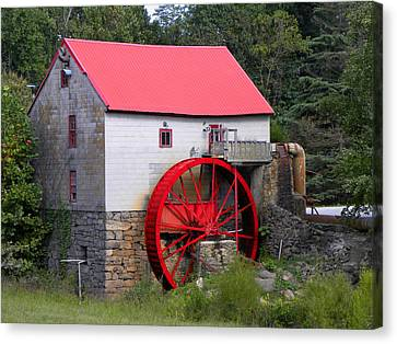 Canvas Print featuring the photograph Old Mill Of Guilford by Sandi OReilly