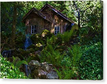 Old Mill On A Sunny Afternoon Canvas Print by Jordan Blackstone