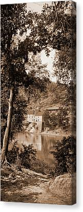 Maryland Canvas Print - Old Mill On The Potomac River, Maryland, Jackson, William by Litz Collection