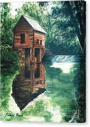 Old Mill Stream Canvas Print