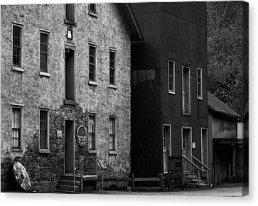 Grist Mill Canvas Print - Old Mill by Val Arie