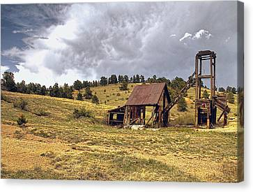 Old Mine In Gilpin County Colorado Canvas Print by James Steele
