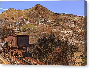 Old Mining Town No.24 Canvas Print