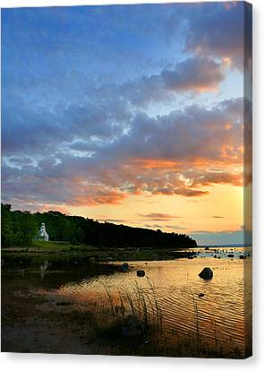Old Mission Point Canvas Print