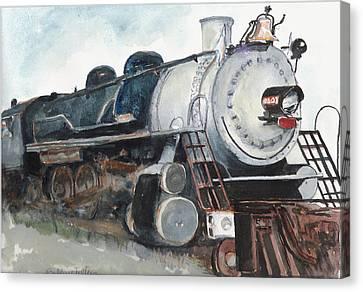 Old Mississippi Central Engine  Canvas Print