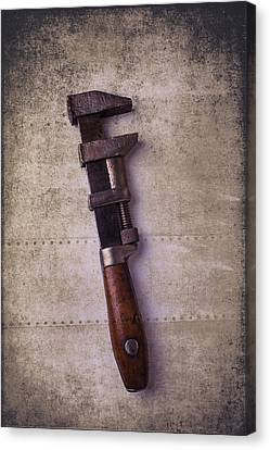 Old Monkey Wrench Canvas Print