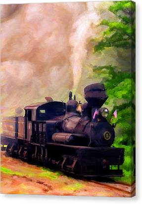 Old No. 5 Canvas Print by Michael Pickett