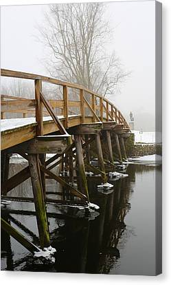Old North Bridge Canvas Print by Allan Morrison