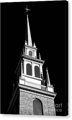 Old North Church Star Canvas Print by John Rizzuto