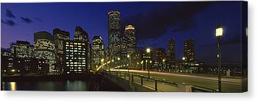Old Northern Avenue Bridge Canvas Print by Panoramic Images