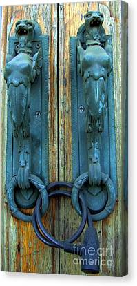 Old Old Door Canvas Print by Yury Bashkin