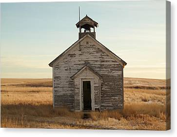 Old One Room Schoolhouse Canvas Print by Jeff Swan