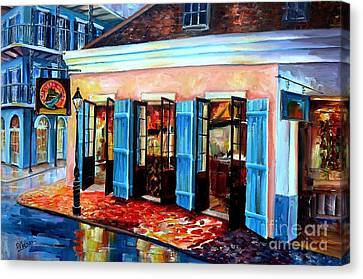 Historic House Canvas Print - Old Opera House-new Orleans by Diane Millsap