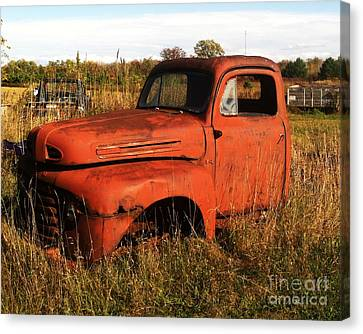 Old Orange Canvas Print