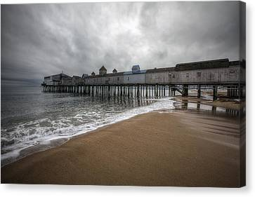 Old Orchard Beach Canvas Print by Eric Gendron