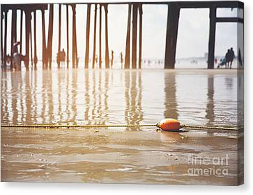 Old Orchard Beach Canvas Print by Jane Rix