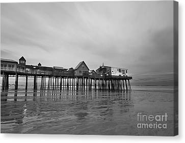 Old Orchard Beach Pier Canvas Print by Katherine Gendreau