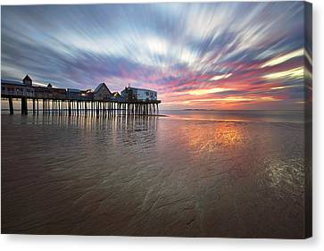 Old Orchard Daybreak Canvas Print by Eric Gendron