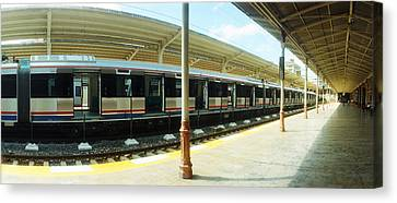 Old Orient Express Train Station Canvas Print by Panoramic Images