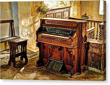 Old Packard Organ Canvas Print by Mal Bray