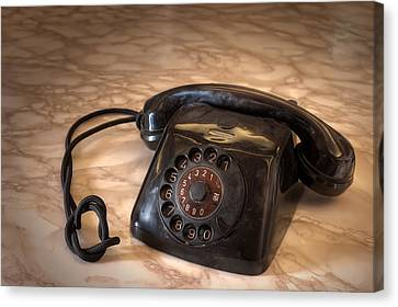 Old Phone Canvas Print by Leonardo Marangi