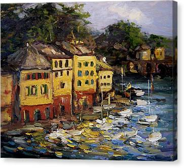 Old Porto Canvas Print by R W Goetting