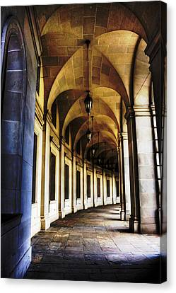 Old Post Office Archway Canvas Print by Regina  Williams