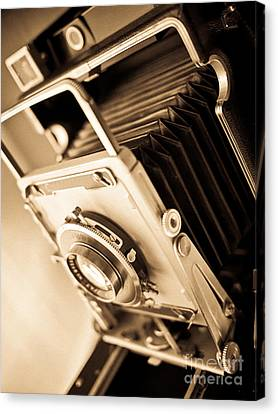 Old Press Camera Canvas Print