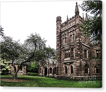 Old Princeton Canvas Print by Olivier Le Queinec