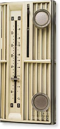 Old Radio Phone Case Canvas Print by Edward Fielding