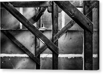 Old Rafters Canvas Print