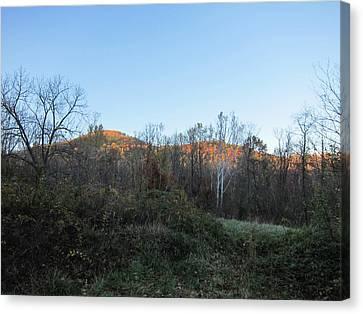 Old Rag Hiking Trail - 121267 Canvas Print