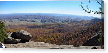 Old Rag Hiking Trail - 121268 Canvas Print
