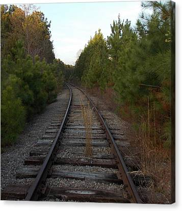 Old Railroad Canvas Print