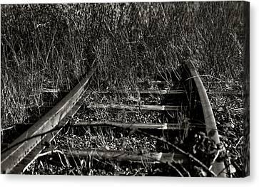 Old Rails Canvas Print