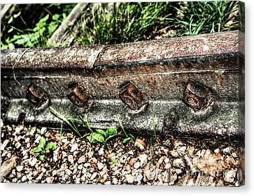Old Railway Tracks Canvas Print by Doc Braham