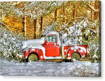 Old Red Canvas Print by Benanne Stiens