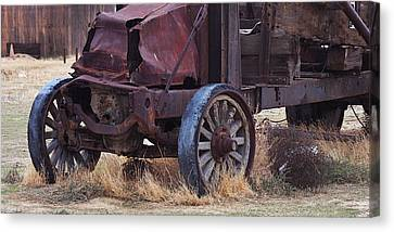 Old Relic Canvas Print by Art Block Collections