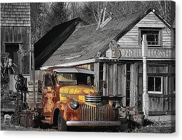 Old Ride Canvas Print by Tricia Marchlik