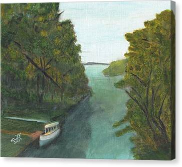 Old River Canvas Print by Cliff Wilson