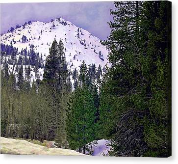 Old Route 40 Winter Canvas Print by William Havle