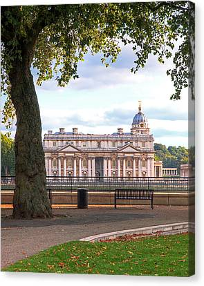 Old Royal Naval College Greenwich Canvas Print by Gill Billington