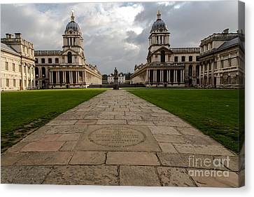 Old Royal Naval College Canvas Print by John Daly
