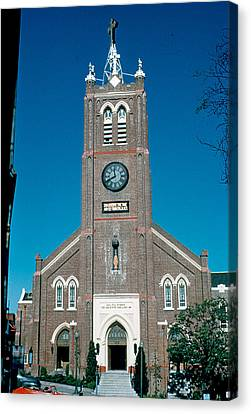 Old Saint Mary's 1956 Canvas Print by Cumberland Warden