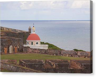 Canvas Print featuring the photograph Old San Juan by Daniel Sheldon