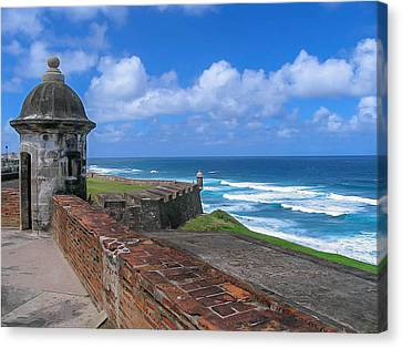 Old San Juan Puerto Rico  Canvas Print by Trace Kittrell