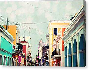Old San Juan Special Request Canvas Print by Kim Fearheiley