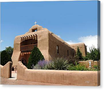 Old Santo Tomas El Apostle Church Canvas Print by Gordon Beck