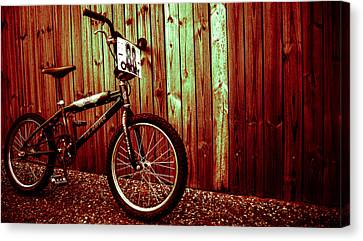 Old School Bmx - Pk Ripper  Canvas Print by Jamian Stayt