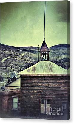 Old Schoolhouse Canvas Print by Jill Battaglia